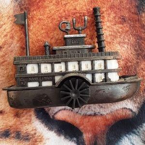 Vintage boat diacast pencil sharpener